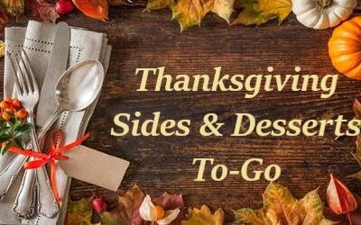 Thanksgiving Sides & Desserts Menu 2020